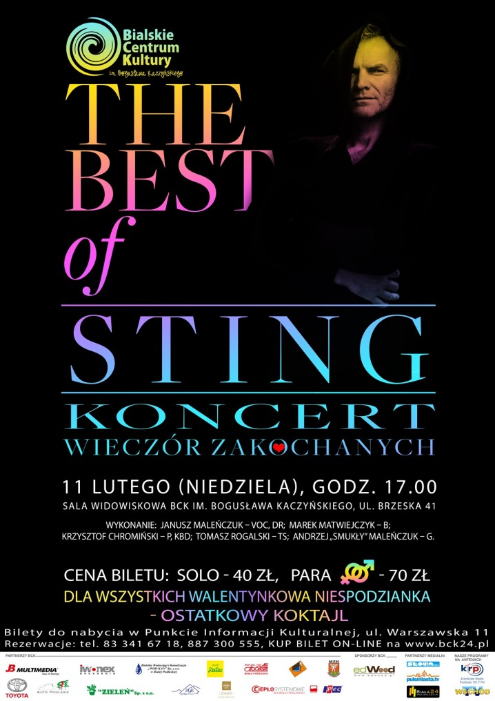 "Koncert ""The Best of Sting"""